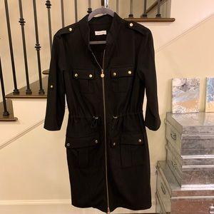 Calvin Klein Black Shift Dress